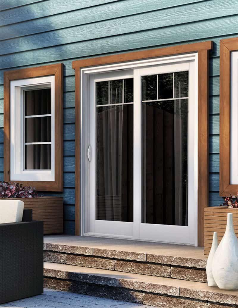 300 All PVC Patio Door